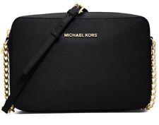 Michael Kors Tasche/Umhängetasche Jet Set Item Crossbody Black/Gold NEU