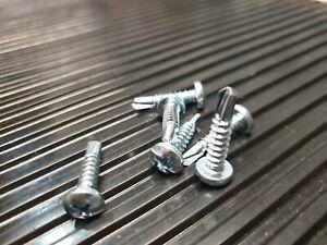Bohrschrauben mit Linsenkopf N  DIN 7504  3,5 - 6,3 galv.verz/ PH2