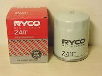 Z411 RYCO Oil Filter for Mitsubishi Lancer Evolution Outlander ASX Colt Mirage
