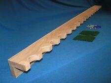 20 gun  closet gun rack - solid oak construction