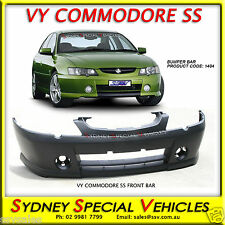 VY COMMODORE SS S PACK FRONT BAR IN PLASTIC - NEW BUMPER - SV6 SV8 CREWMAN