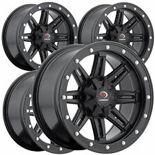 "4) 14"" RIMS WHEELS for 2006-2013 Honda TRX 680 Rincon IRS Vision Type 550 ATV"