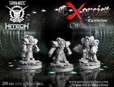 HITECH MINIATURES - 28SF069 Exorcist Egzekuthor Wolfang Strom *Warhammer 40000*