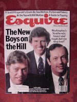 ESQUIRE February 1982 Saul Bellow Fanny Ardant Bill Walton F Scott Fitzgerald