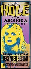 Hole Courtney Love Handbill Original Concert 1994 Agora Mark Arminski Rare