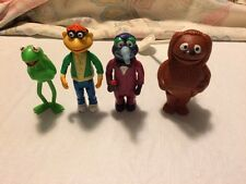 Fisher Price Muppets Stick Puppets lot of 4 1970's