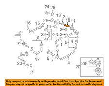 AUDI OEM 05-09 A4 Quattro 2.0L-L4 Cooling-Upper Hose 06D121101B