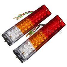 2x LED Stop Rear Tail Reverse Light Turn Indicator Ute Truck Trailer Caravan 12V