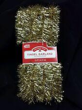 Tinsel Garland gold 15 feet holiday birthday wedding party