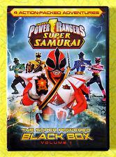 Power Rangers Super Samurai, Vol. 1: The Super Powered Black Box ~ New DVD