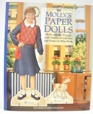 2003 The American Girls Collection MOLLY'S  PAPER DOLLS Book