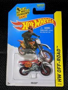 RED HW450F Motorcycle HW Off-Road 81/250 2015 HW Moto CFK36 New in Pack!