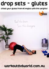GLUTE Weights Training Exercise DVD - Barlates Body Blitz DROP SETS GLUTES!