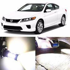Alla Lighting Fog Light H11 6000K White LED Bulbs for 2006~15 Honda Accord Civic