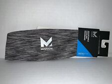 Mission VaporActive Cooling Lockdown Headband, Charcoal Space Dye, One Size &amp