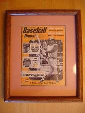June 1972 Baseball Digest Signed Pete Rose Willie Mays Reggie Jackson Autograph