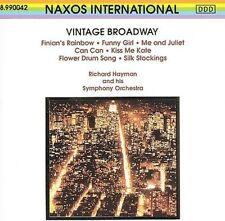 RICHARD HAYMAN - VINTAGE BROADWAY NEW CD