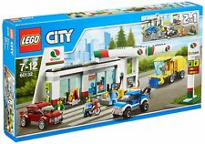 LEGO CITY  60132  2 in 1 SERVICE STATION - BRAND NEW & SEALED