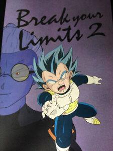 Dragon Ball Doujinshi Vegeta , Bulma (B5 24pages) Break your Limits2 meg