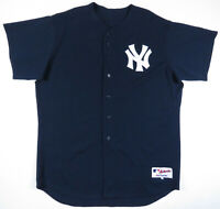 Vintage New York Yankees Majestic Authentic MLB Baseball Sewn Blank Jersey 54