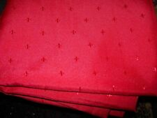"""RED OVAL TABLECLOTH--70"""" X 70"""" --#R2A"""