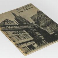 Old Frankfurt - Old German Photo Book 1930s prior WW2 Raid - Church Romer Lanes