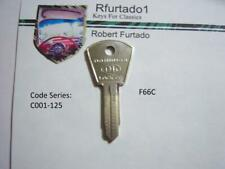 Key Blank for Vintage Alfa Romeo, Fiat  ign. early 60's (see code series) F66C