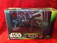 Kenner Star Wars POTF Final Jedi Duel Emperor Palpatine, Darth Vader, and Luke