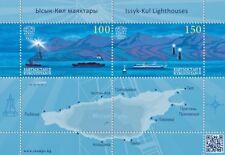 "Kyrgyzstan KEP - ""SHIPS ~ ISSYK - KUL LIGHTHOUSES"" MS 2018 !"