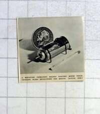 1946 Miniature Permanent Magnet Electric Motor 20,000 Rpm