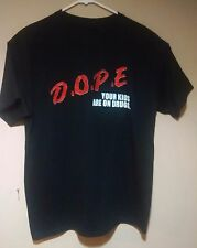 RARE Marilyn Manson D.O.P.E DOPE Your Kids Are On Drugs Tshirt Tee Shirt LARGE