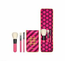Mac Nutcracker Sweet Essential 3 Brushes Kit Holiday Collection Brush Set Pouch
