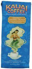 Kauai Coffee, Coconut Caramel Crunch, Ground 10 Ounce Bag (Pack of 2)