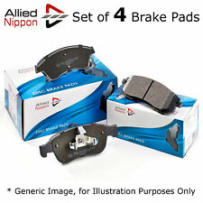 Allied Nippon Front Brake Pads Set OE Quality with Warning Contact ADB1851
