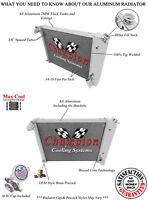 3 Row Performance Champion Radiator for 1966 - 1968 Chevrolet Corvette V8 Engine