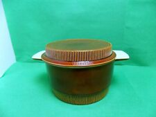 Poole Pottery Chestnut Vegetable Dish