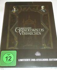 Phantastische Tierwesen 2 - Grindelwalds Verbrechen - DVD/NEU/Fantasy/Steelbook