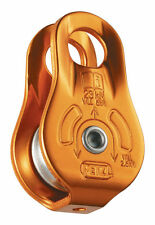 PULLEY WITH FIXED SIDE PLATES CARRUCOLA POULIE FIXE PETZL ALPINISMO