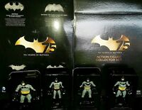 75 YEARS OF BATMAN. SUPERB ANNIVERSARY ACTION FIGURE 4-PACK. DC COLLECTIBLES.