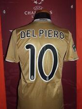 DEL PIERO JUVENTUS 2009/10 MAGLIA SHIRT CALCIO FOOTBALL MAILLOT JERSEY CAMISETA
