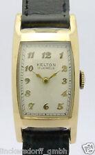 Kelton Schweiz   Curvex   Herren Armbanduhr Modell AL 10  Doulbe´   1940er Jahre
