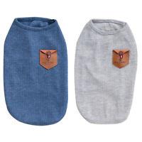 Hund Haustier Welpe T Shirt Sommer Weste Kleidung koreanischen Stil Mantel