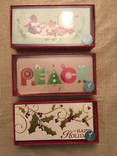 Papyrus Christmas Boxed Cards -Lot Of 3 Boxes