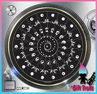 "Follow The Wolf #1 Animated Turntable Slipmat 12"" LP Record DJ Slip Mat x1"