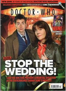 Doctor Who Magazine  Issue 414 (David Tennant, 2009) VG Condition US Seller