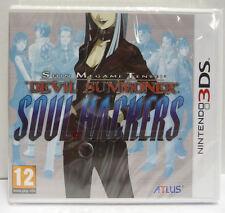 SHIN MEGAMI TENSEI DEVIL SUMMONER  SOUL HACKERS - NINTENDO 3DS - NUOVO NEW