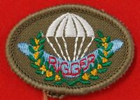 AUSTRALIAN DEFENCE FORCES RIGGER QUALIFICATION PATCH FOR THE DRESS UNIFORM