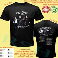 SKILLET - VICTORIOUS  TOUR 2020 Concert Album T-Shirt Adult S-5XL Youth Infants