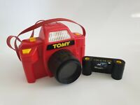Vintage Tomy 1988 Red Toy Camera Rare HTF | Like A View master