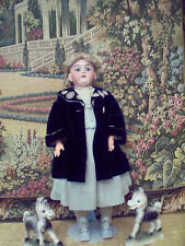 "LARGE ANTIQUE BISQUE 27"" DOLL, Marked ""14. Germany 99 DEP Handwerck 5 1/2"""